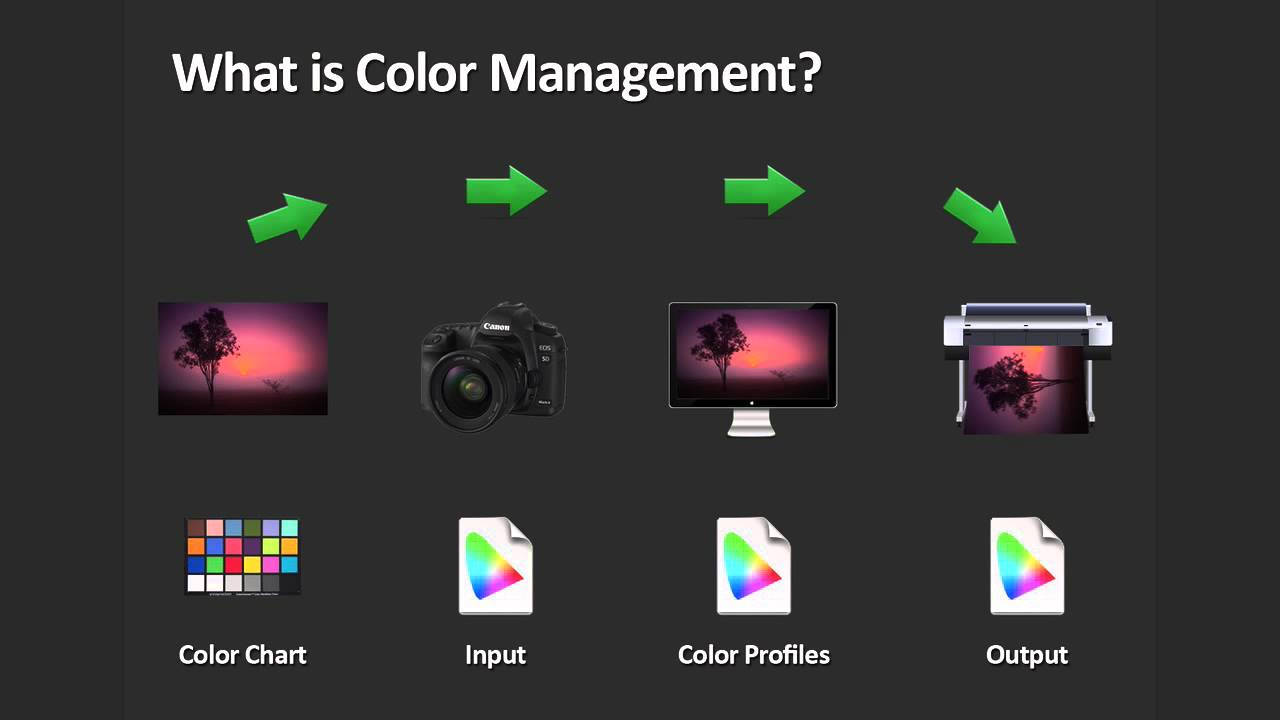 Color Management For Photographers - YouTube