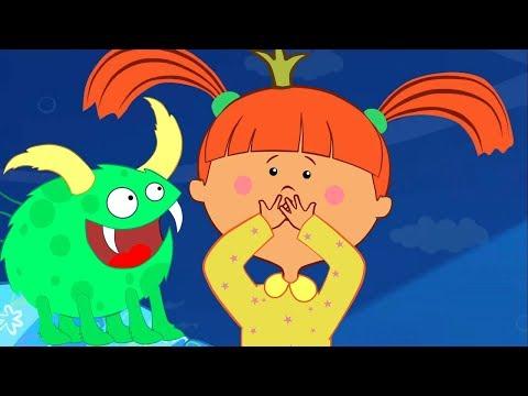 Песенка Царевны - Монстры вокруг! - Мультик-песня для детей