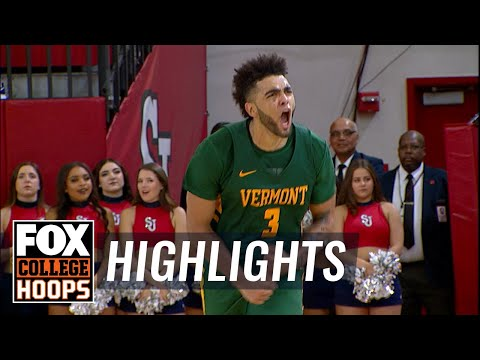 Anthony Lamb jumper in closing seconds sends Vermont past St. John's | FOX COLLEGE HOOPS HIGHLIGHTS