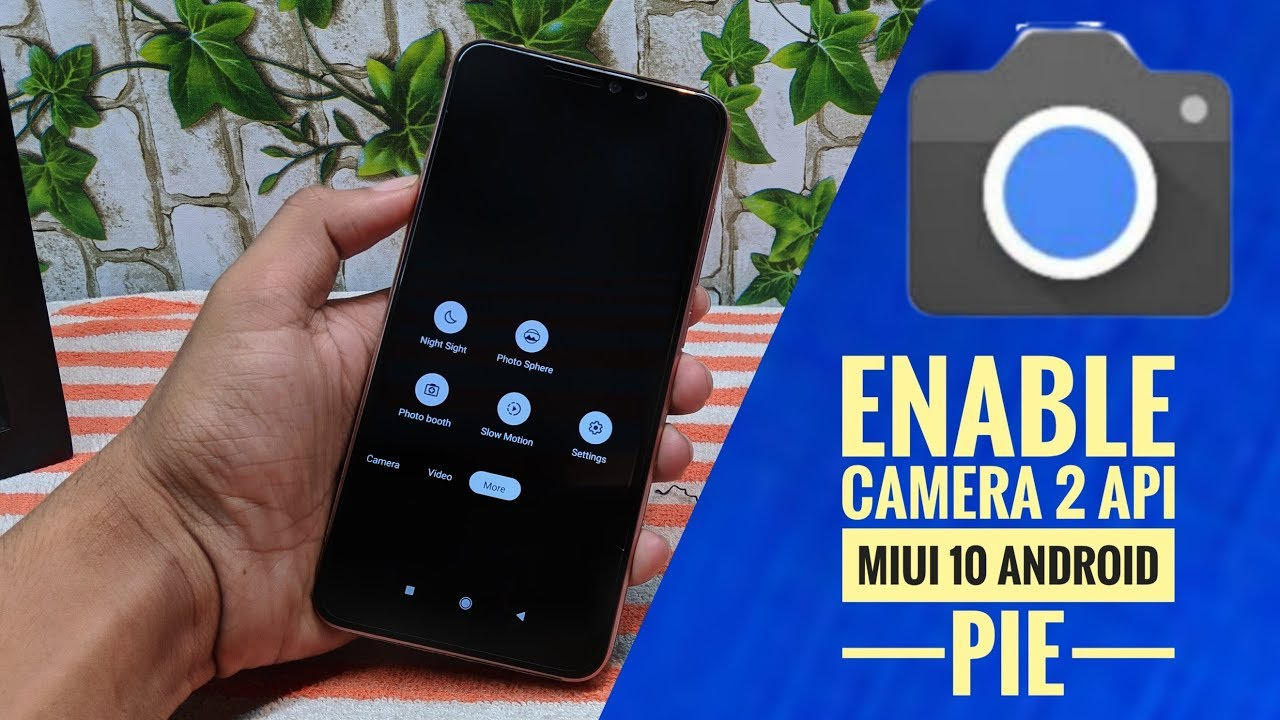 HOW TO INSTALL GOOGLE CAMERA | REDMI NOTE 6 PRO |Slow Motion | Without ROOT  | HINDI