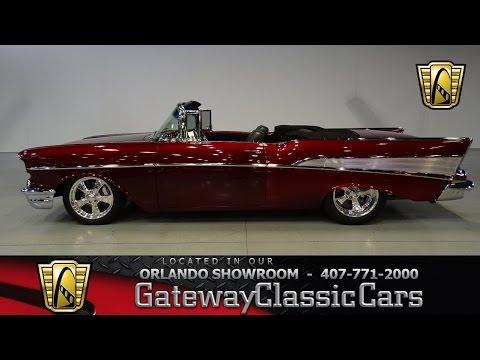 1957 Chevrolet Bel Air Gateway Classic Cars Orlando #600