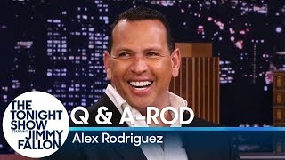 Jimmy asks alex rodriguez to set the record straight on rumors about him, like whether he and jennifer lopez had a double date with prince harry meghan m...