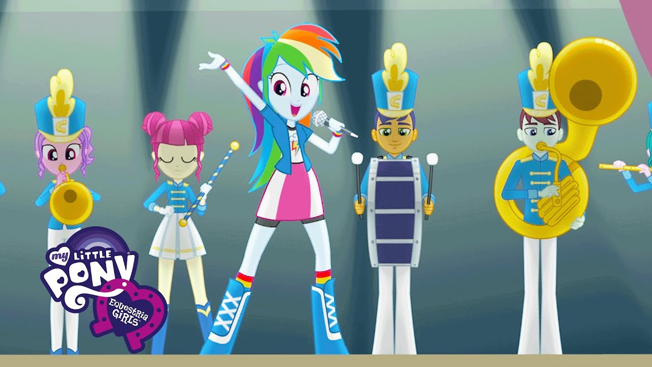 "MLP: Equestria Girls - Friendship Games ""The CHS Rally ..."