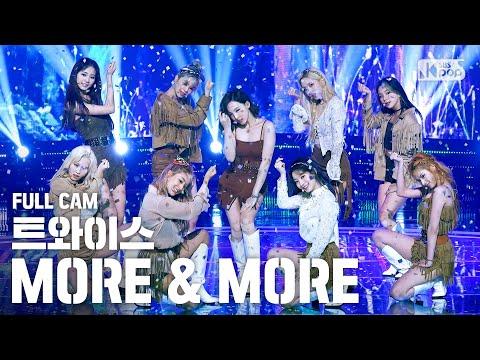 [안방1열 직캠4K] 트와이스 'MORE & MORE' 풀캠 (TWICE Full Cam)│@SBS Inkigayo_2020.6.14