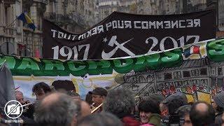 Front Social : Marche sur l'Elysée et contre la politique antisociale de Macron - Paris 18/11/17