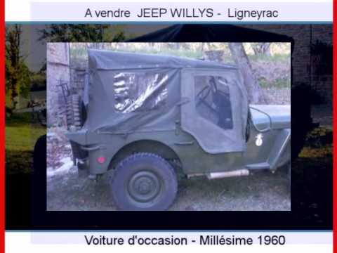 achat vente une jeep willys ligneyrac youtube. Black Bedroom Furniture Sets. Home Design Ideas
