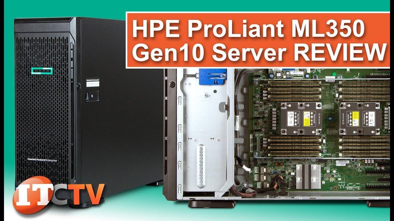 HPE Proliant ML350 Gen10 Server REVIEW