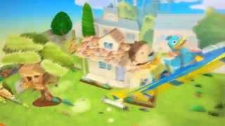 Zack & Quack [GREEK Intro] Ζακ και Κουάκ~Τραγούδι τίτλων αρχής