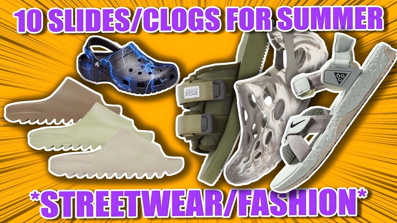 10 Slides/Clogs For The Summer Time‼️