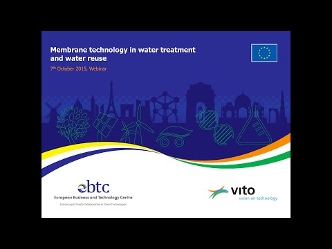 Webinar on Membranes in Water and Wastewater Treatment