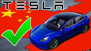 Tesla China Gets Go Ahead to Begin Delivering Model 3