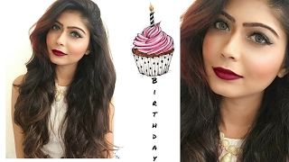 My Birthday Makeup Look   Rinkal Soni