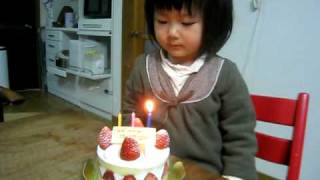 ママお誕生日おめでとう Happy Birthday Mother