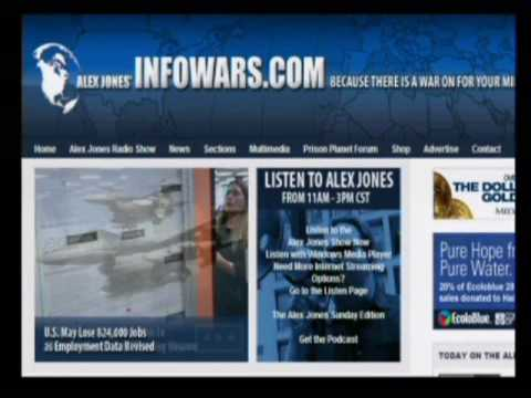 The Alex Jones Show with Red Beckman 2-4-2010 Pt. 6