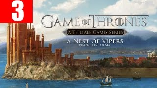Game of Thrones Episode 5 Walkthrough Part 3 A Nest of Vipers PC HD Gameplay Let