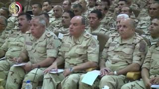وزير الدفاع: الحفاظ علي أمن واستقرار سيناء أمانة في رقابنا جميعا.. فيديو