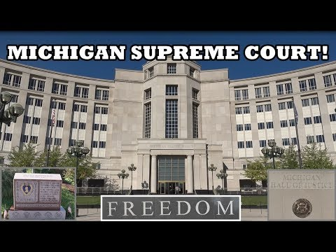 MICHIGAN SUPREME COURT! 1st Amendment Audit