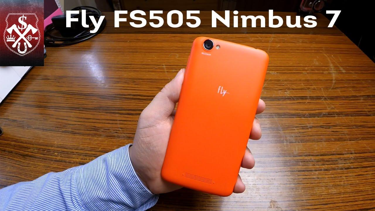 Обзор Fly FS505 Nimbus 7 - YouTube