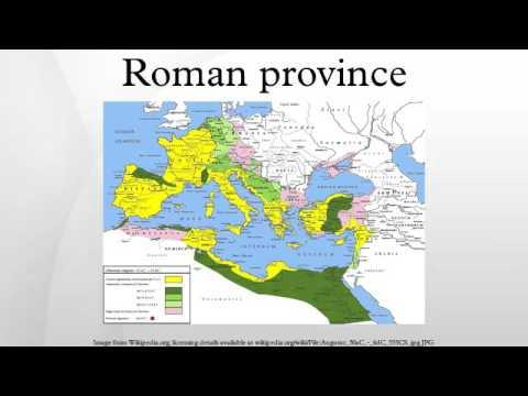 Roman province