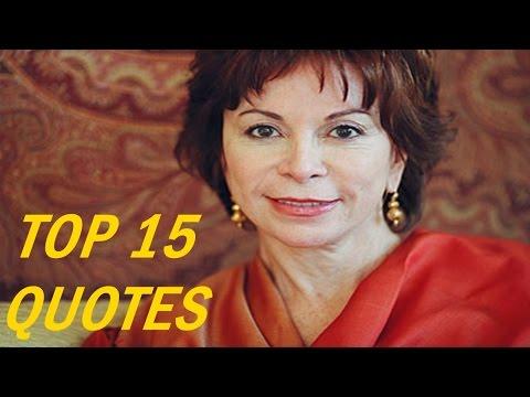 15 Popular Isabel Allende Quotes