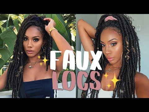 How to Get Natural-Looking Faux Locs with Crochet