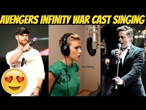 Avengers 4: End Game Cast Singing Ft. Robert Downey Jr., Chris Hemsworth & Scareltt Johansson