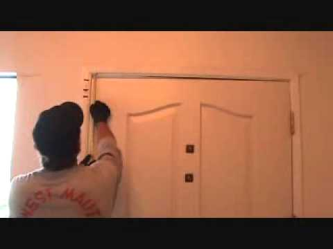 Can an average joe fix this front door?...YES!...Part 1