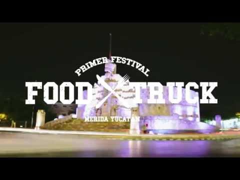 Primer Festival Food Truck Mérida 2015.