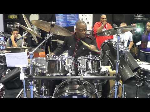 MING Drums @ NAMM '13- The JAMM Sessions Part.5 (Alvin Taylor Pt.2)