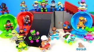 DUDES ЧУВАКИ #ЧЕРЕПАШКИ НИНДЗЯ! Мультик с игрушками! Видео для детей TECH DECK