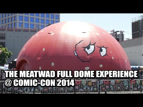Meadwad Full Dome Experience at ComicCon 2014