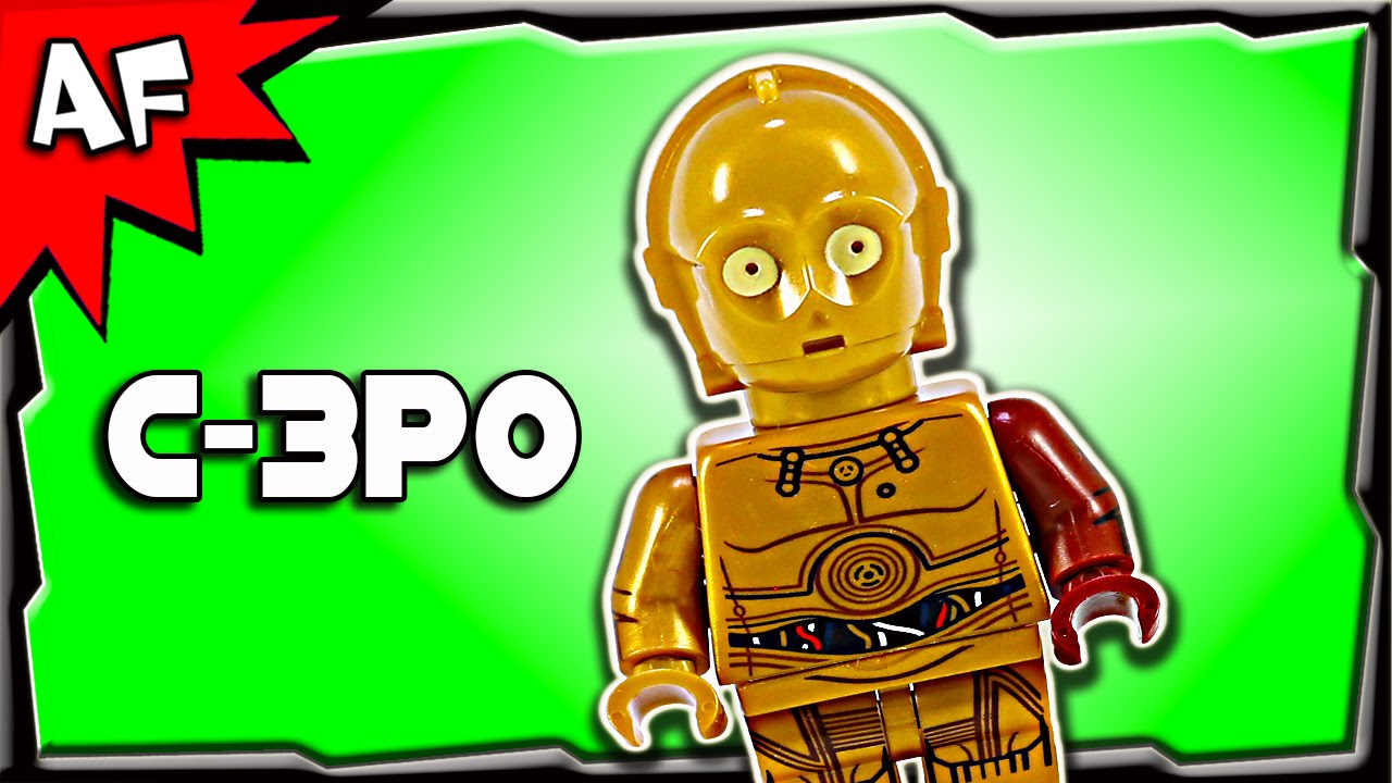NEW LEGO 75059 STAR WARS C-3PO MINIFIGURE BRAND NEW