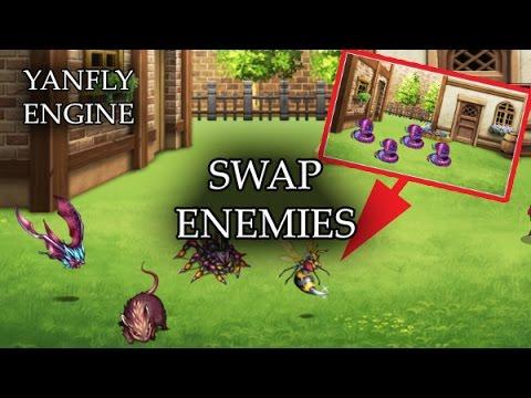 YEP.45 - Swap Enemies - RPG Maker MV - YouTube