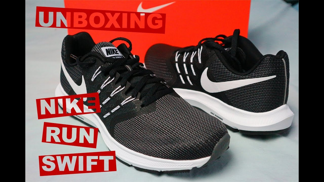 41e096d643b Nike Run Swift Unboxing - YouTube