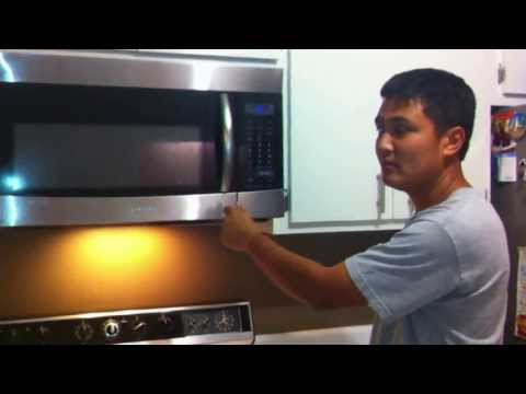 Samsung Microwave Door Latch Spring Repair - when your door won't latch closed