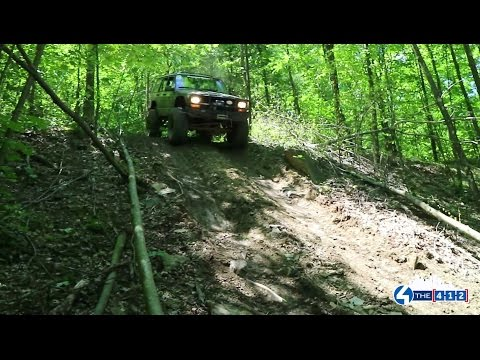 Off-Road Trail Riding at Bantam Jeep Heritage Festival in Butler County, PA