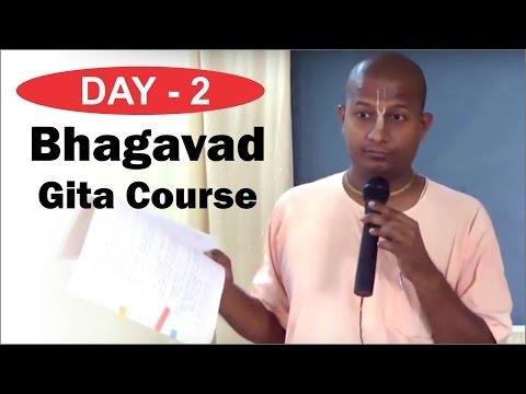 Bhagavad Gita Course by Das Gadadhar Prabhu in Marathi Day 2