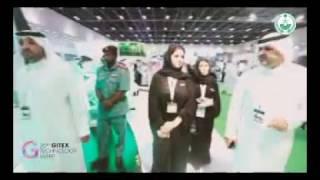 بالفيديو.. جناح وزارة الداخلية في #جيتكس يستقطب الزوّار