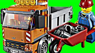 Lego City Tipper DUMP TRUCK set 4434 Animated Building Review