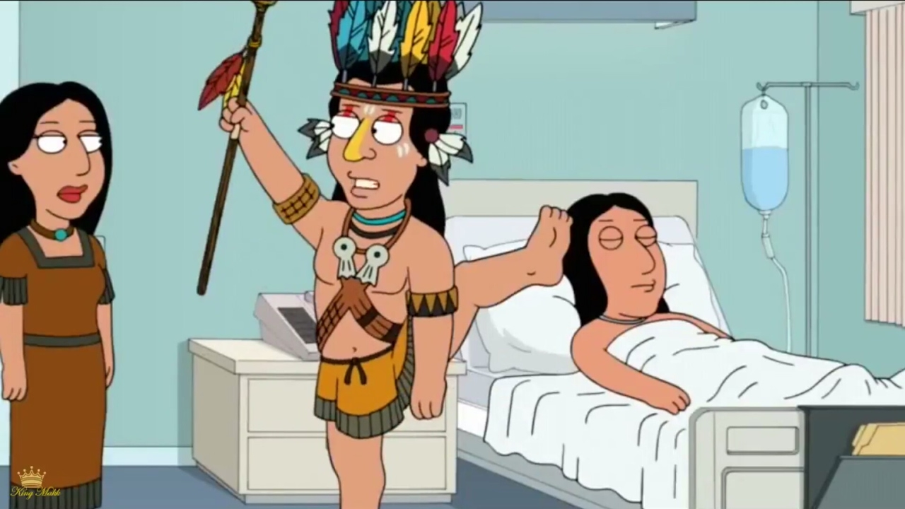 You incorrect family guy native american