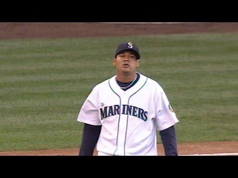 Seattle - Sports - Felix Hernandez pitches immaculate inning in 2008