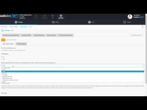 How to Setup & Customize the CRM - Marketing 360® Platform Demo