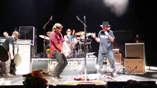 Neil Young  and POTR Guitar Burial