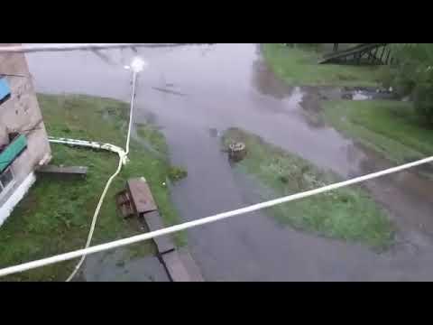 Пожарский район Приморского края - паводок 16.08.19