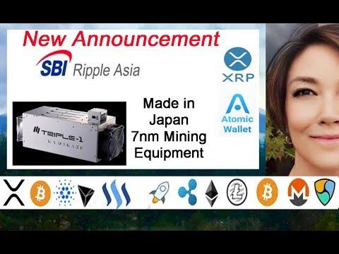 New SBI Ripple Asia Announcement, XRP Atomic Swaps, BCH Split, 7nm Mining Equipment Kamikaze