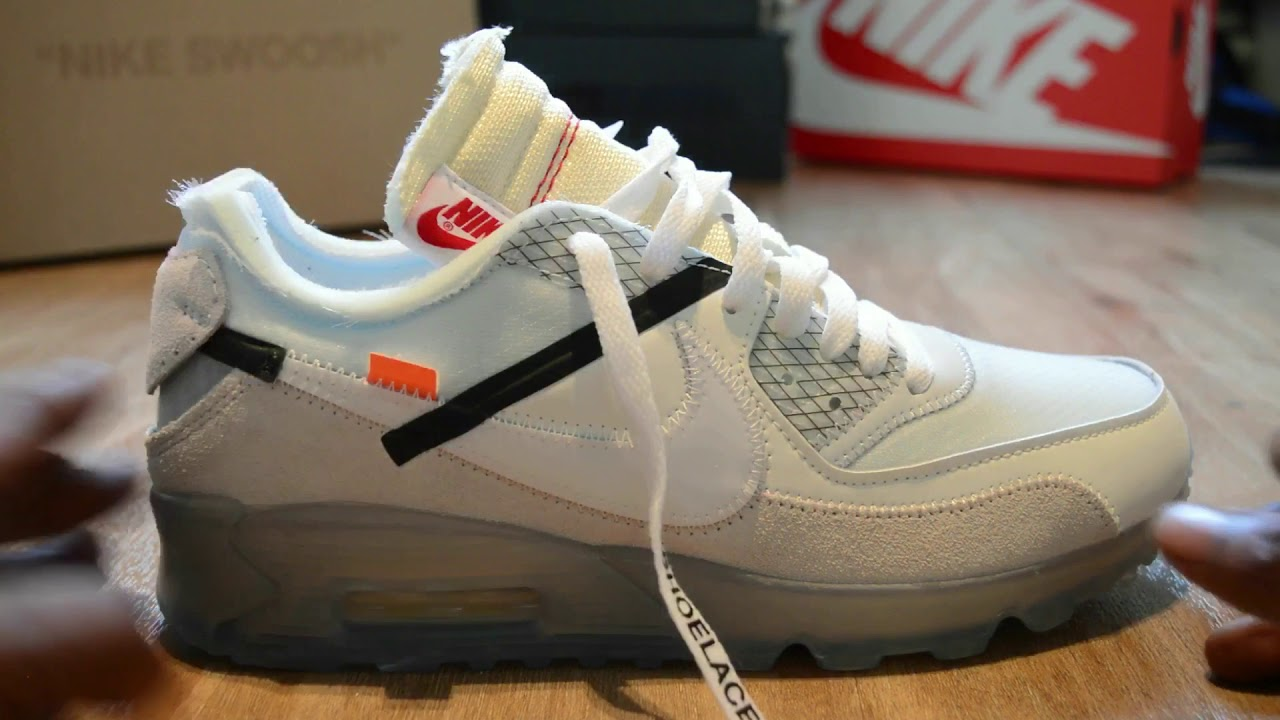 off white nike air max 90
