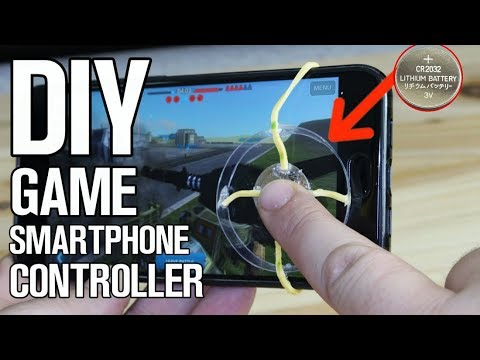 DIY Game Controller for Smartphones