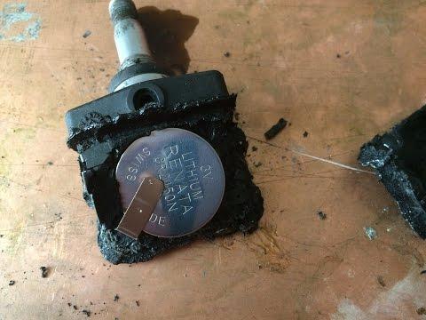Ремонт датчиков давления в шинах