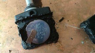 видео Датчик давления воздуха в шинах.