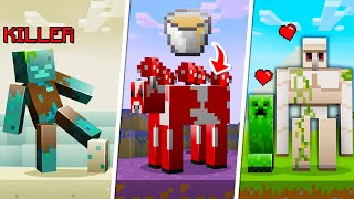 25 Mobs With SECRETS in Minecraft 1.16!
